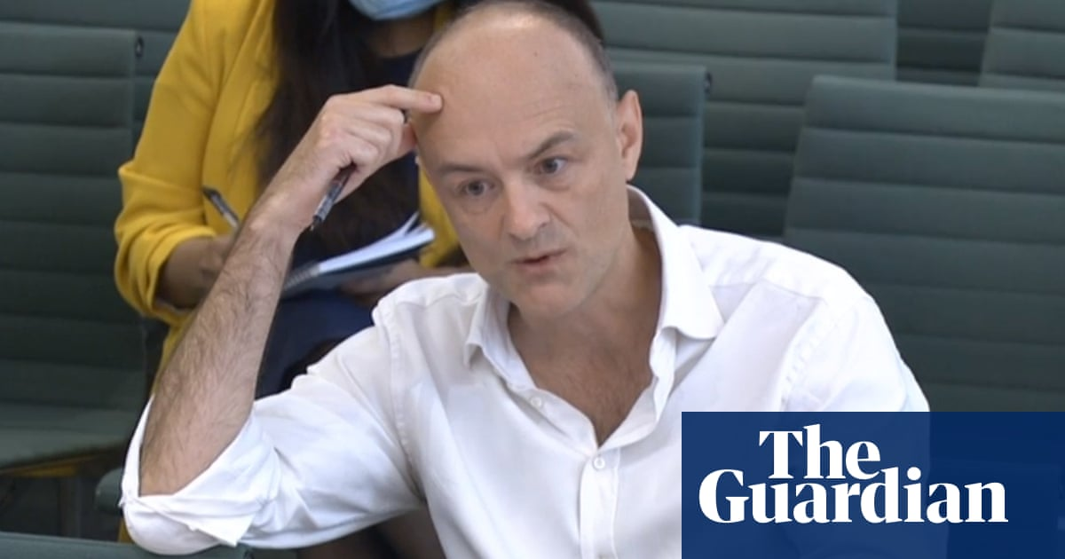 UK government failed public on Covid response, says Dominic Cummings