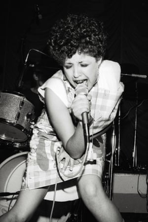 Poly Styrene of X-Ray Spex, July 1977, Belle Vue