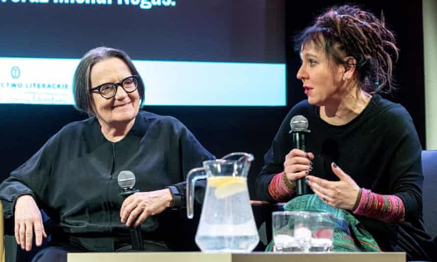 Agnieszka Holland and Olga Tokarczuk