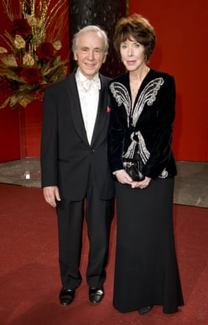 Andrew Sachs and wife Melody Lang