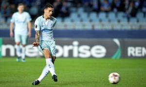 Leandro Paredes is set to leave Zenit St Petersburg to join Paris Saint-Germain for €40m (£34.7m).