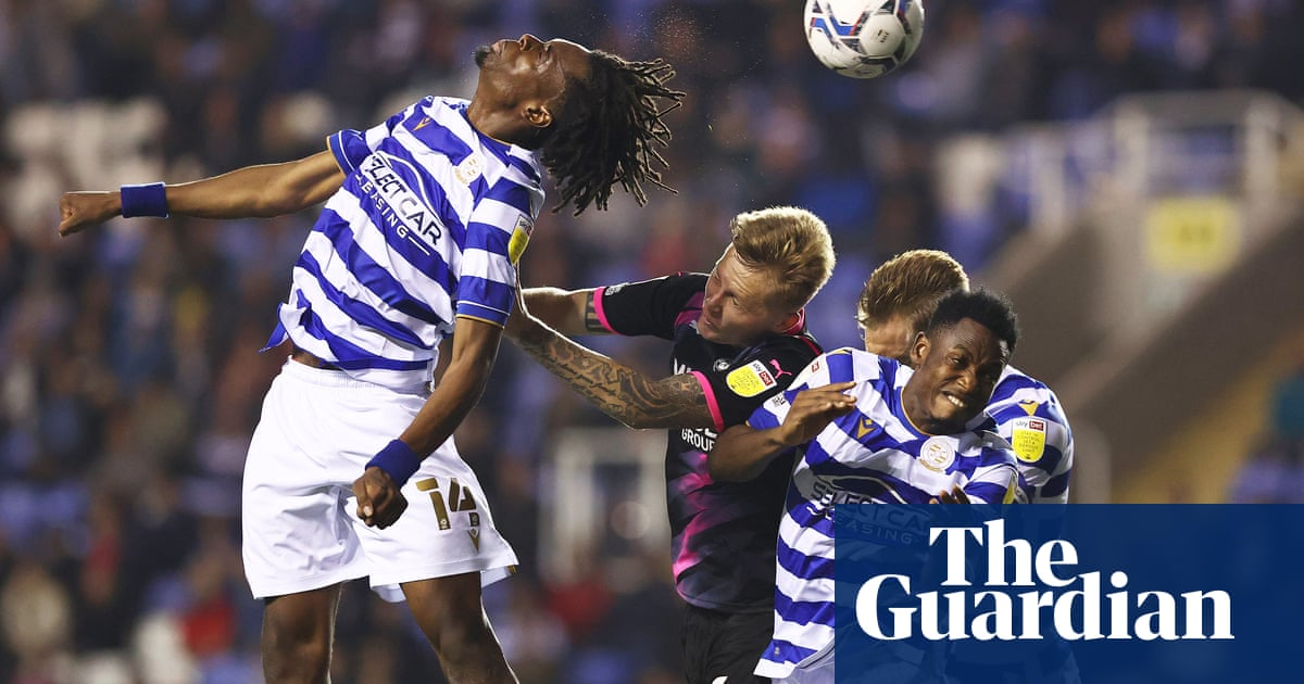 Reading in line for points deduction over breach of EFL financial rules