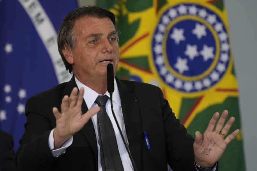 Jair Bolsonaro has repeatedly assailed Brazil's electronic voting system in recent weeks.