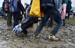 Dragging beer through the mud