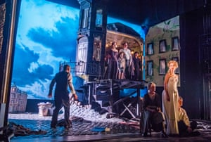 JB Priestley's An Inspector Calls, directed by Stephen Daldry, at the Playhouse theatre.
