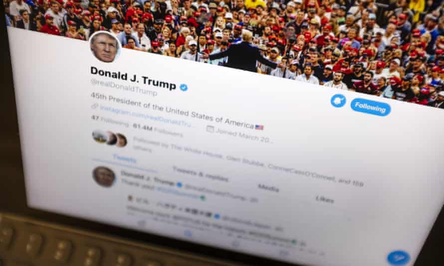 Donald Trump's Twitter feed, 'faithfully followed by mainstream media, like beagles following a live trail'