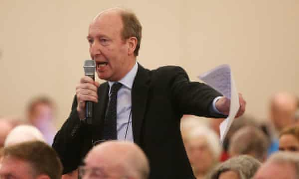 Independent candidate and journalist Shane Ross