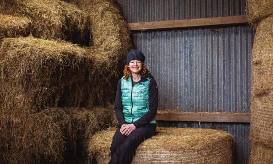 Kate Humble, down on the farm.