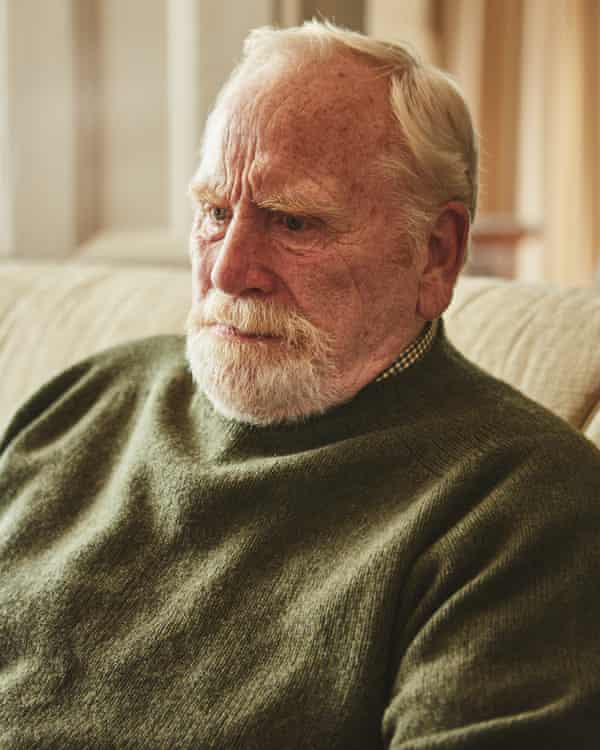 Grieving … James Cosmo in The Bay.