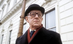 Alec Guinness in the BBC adaptation of John le Carre's Smiley's People.