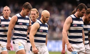Recent AFL finals history weighs heavily on Geelong before
