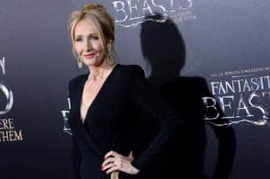 JK Rowling attends the Fantastic Beasts And Where To Find Them world premiere