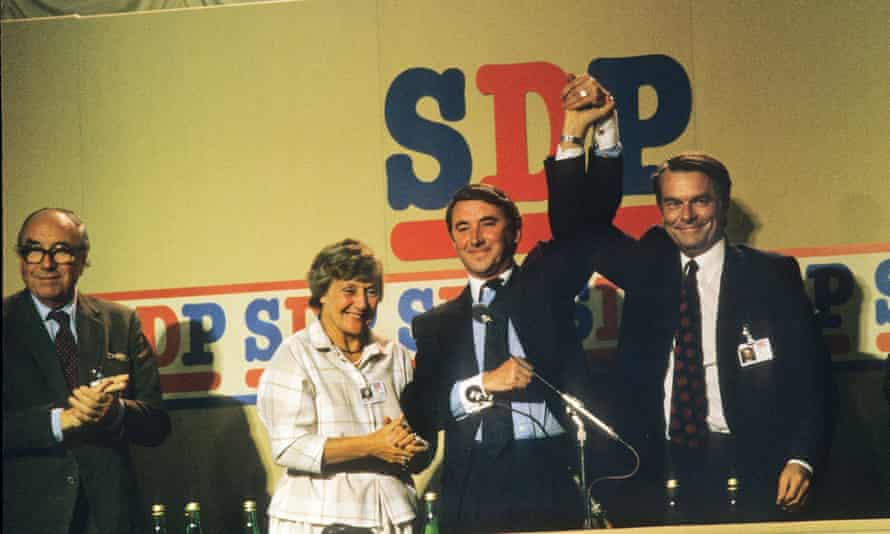 The SDP conference, Torquay, 1985.