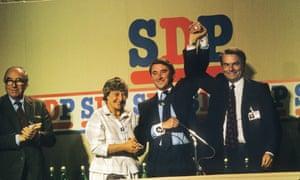 Social Democratic party conference, Torquay, 1985