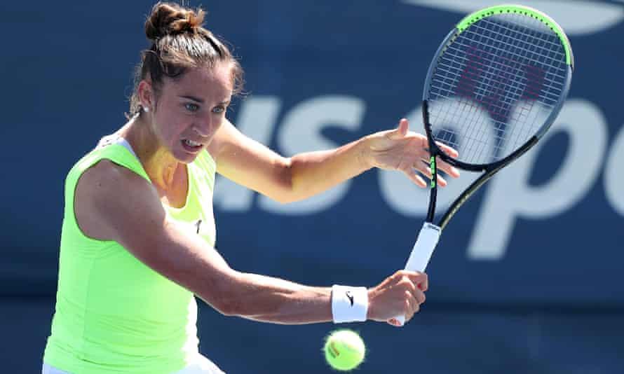 Sara Sorribes Tormo is one of the WTA Tour's form players this season.