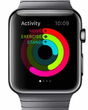 The Activity app on the Apple Watch
