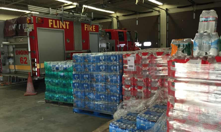 A typical water resource station. flint michigan water crisis