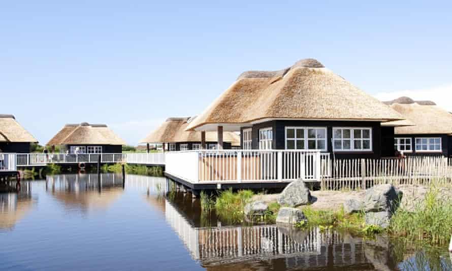Family campsite, Jutland, Denmark