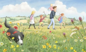 An illustration from We're Going On A Bear Hunt