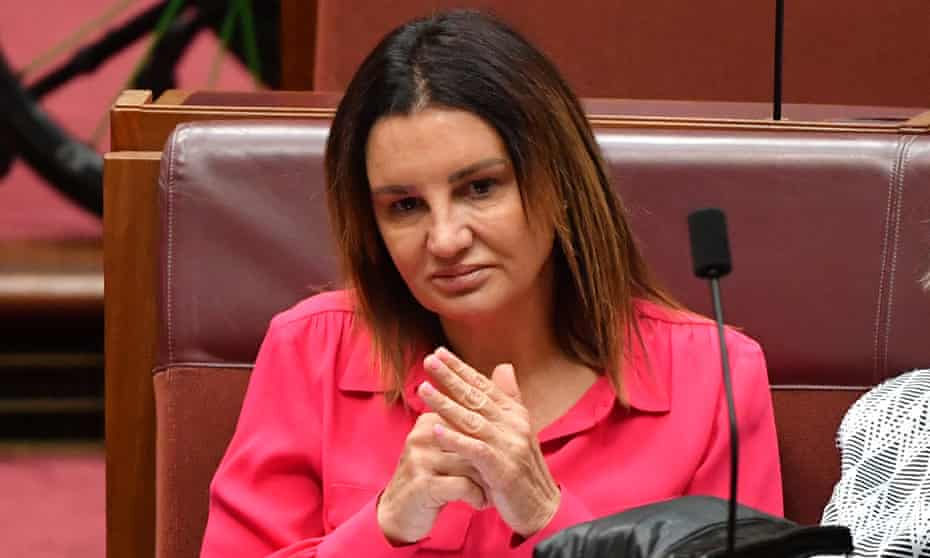Australian senator Jacqui Lambie