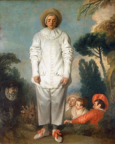 Pierrot, formerly known as Gilles, by Antoine Watteau.