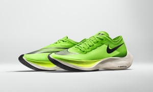 Nike's Vaporfly shoes.