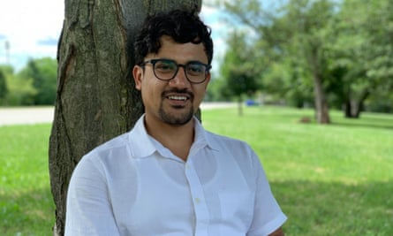 Former Manus Island detainee Imran Mohammad Fazal Hoque, who now lives in Chicago, USA.