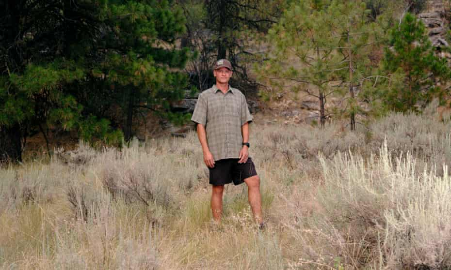 Llew, who worked for 16 years as a wildland firefighter.
