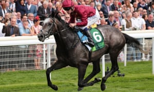 Roaring Lion is favourite for the Irish Champion Stakes.