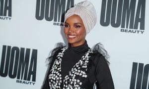 3efd676076ec4 Halima Aden becomes first model to wear a burkini in Sports ...