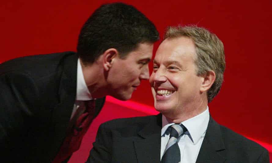 With Tony Blair at the Labour Party Conference in 2005