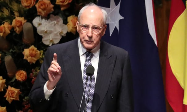 Paul Keating lambasts Australia's security agencies and 'pious' media for anti-China rhetoric | Paul Keating | The Guardian
