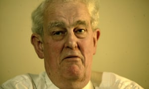 Tam Dalyell in his office at the House of Commons in 2005.
