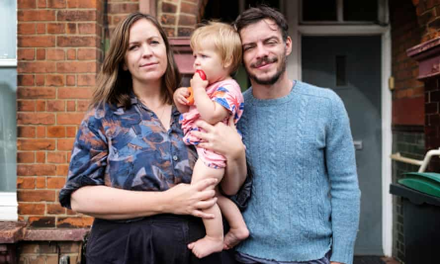 Noel Park resident Michael, pictured here with his partner Sarah and daughter Etta
