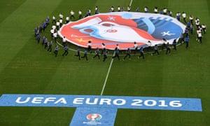 Uefa Euro 2016 banner