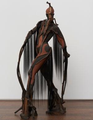 Wangechi Mutu: She Walks, 2019.