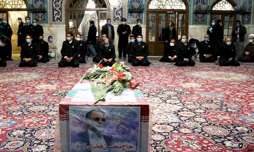 Mohsen Fakhrizadeh's coffin