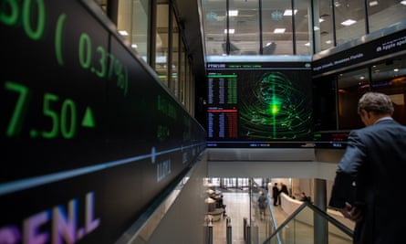 The London Stock Exchange.
