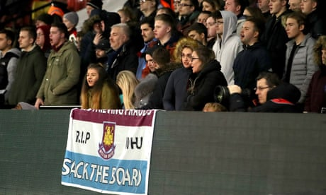 West Ham fans urged to stop calling 999 to complain about team's performances