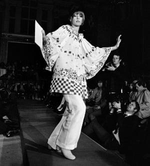 Runway at London Fashion Week, 1969-70