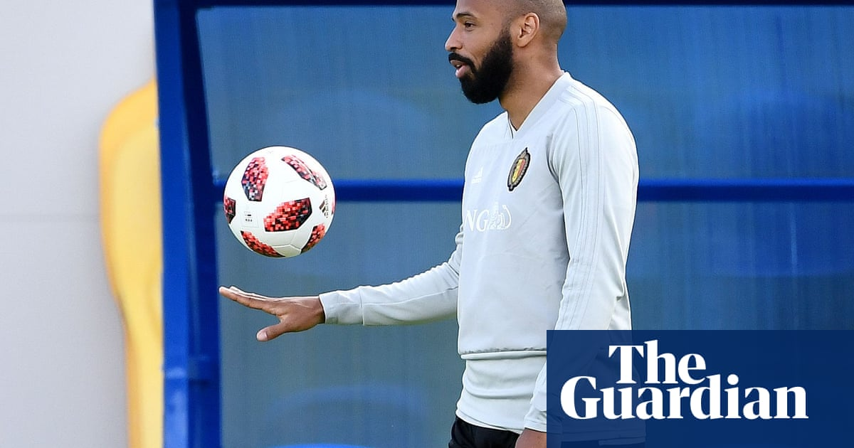 Thierry Henry happy to stay in the shadows in Belgium's cause | Kristof Terreur