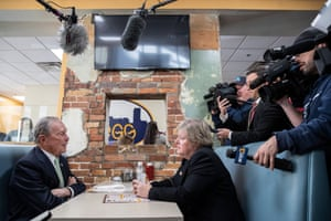 Bloomberg meets Virginia House Delegate-elect Nancy Guy at a coffee shop in Norfolk.