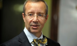 Estonian president Toomas Hendrik Ilves is a trained psychologist with degrees from Columbia and the University of Pennsylvania