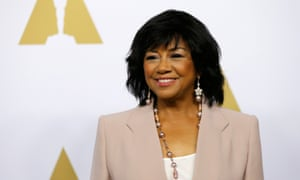 Cheryl Boone Isaacs at the Oscar nominee luncheon in Beverly Hills.