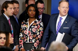 Trump aide Omarosa: 'As the only African American woman in this White House, I have seen things that have made me uncomfortable.'