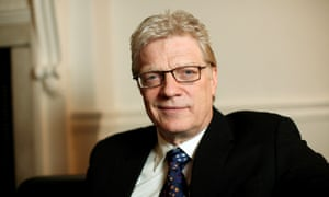 Ken Robinson in London in 2005. In California the following year he said: 'Our education system has mined our minds in the way we strip-mined the earth for a particular commodity.'