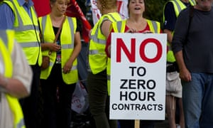 Around 900,000 UK workers are on zero-hours contracts.