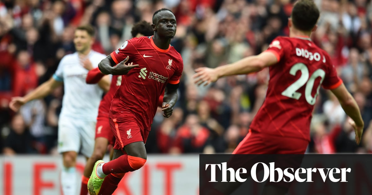 Liverpool's Diogo Jota and Sadio Mané sink Burnley and delight returning fans