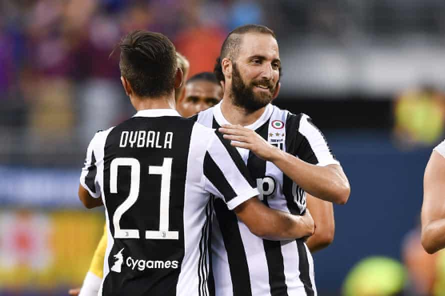 Paulo Dybala and Gonzalo Higuain will be keys to success again for Juventus this season