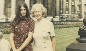 Dina Gold and her grandmother Nellie Wolff in August 1969.